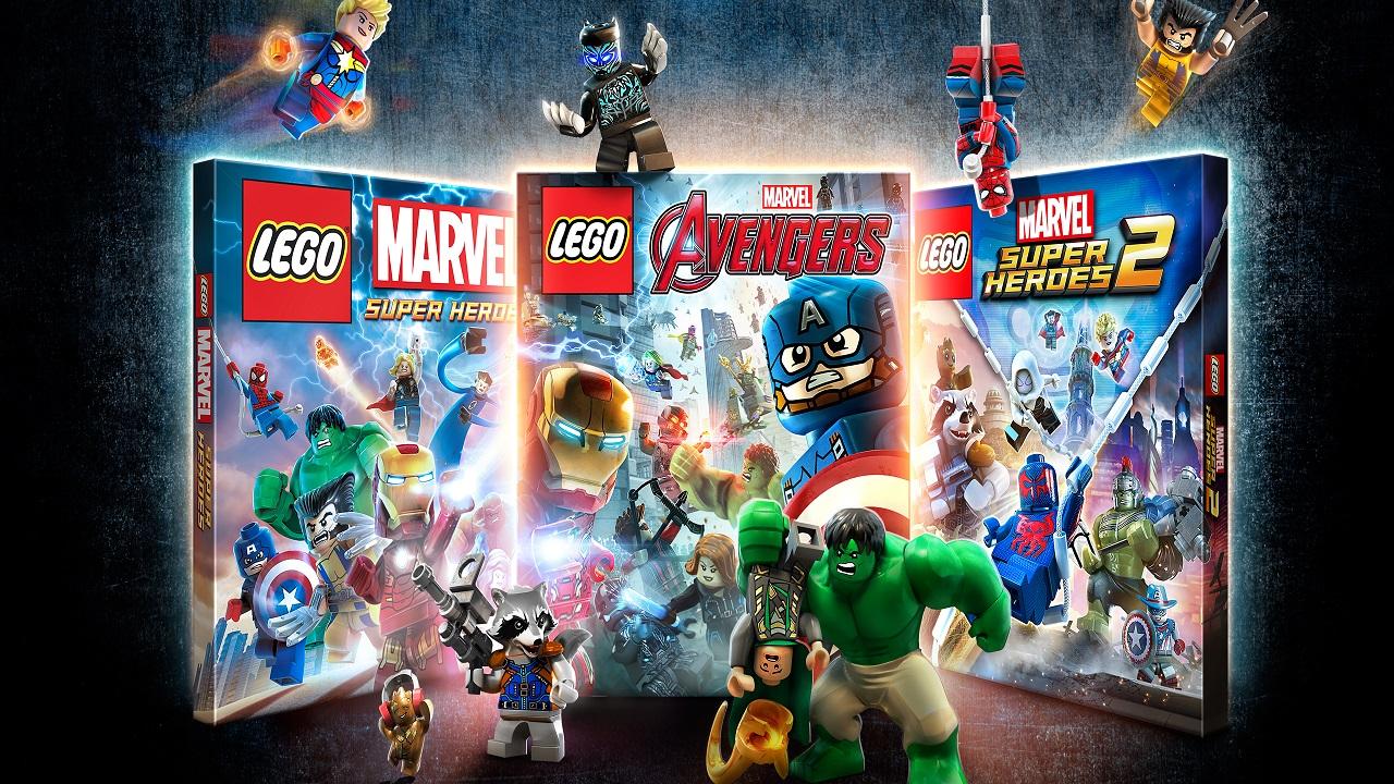 Site da Marvel lista LEGO Marvel Collection para o Nintendo Switch