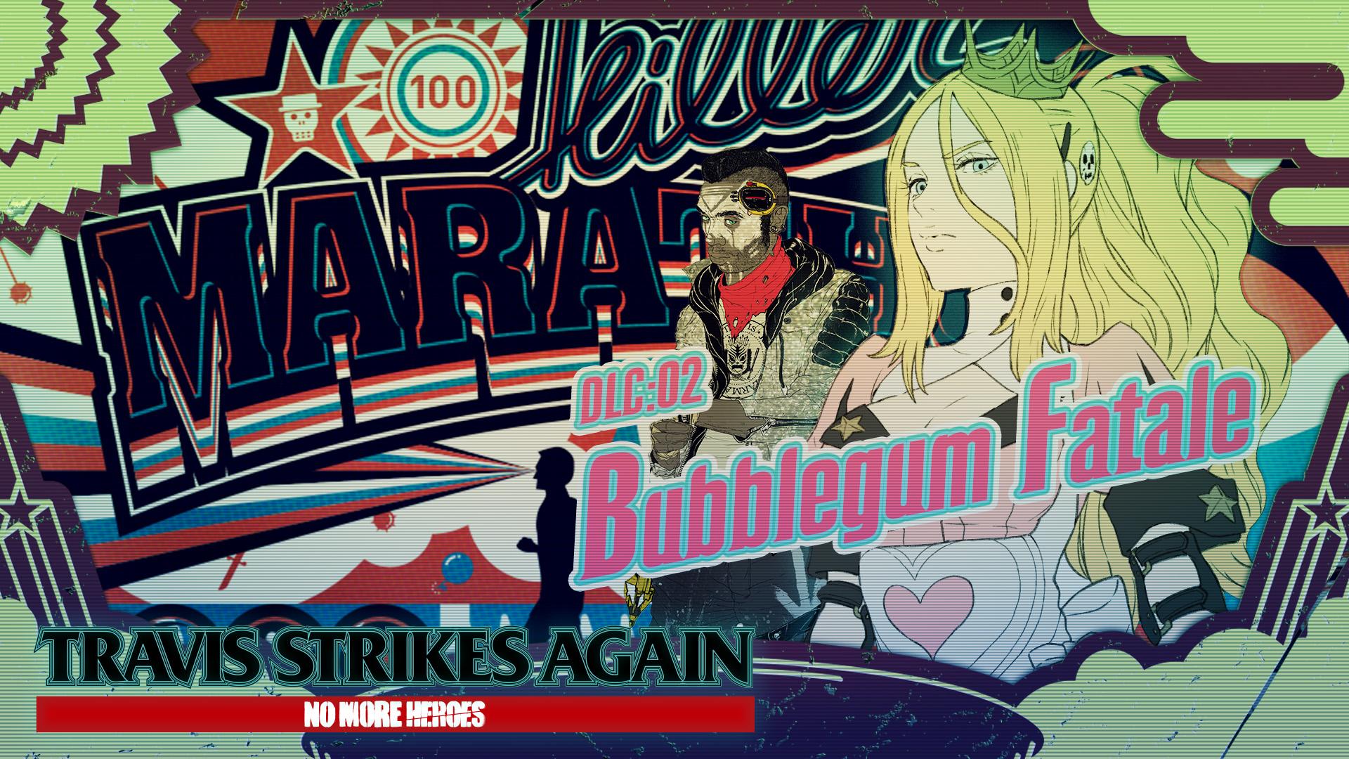 [Switch] Travis Strikes Again: No More Heroes DLC Vol. 02: Bubblegum Fatale chega nesta quinta-feira; Trailer