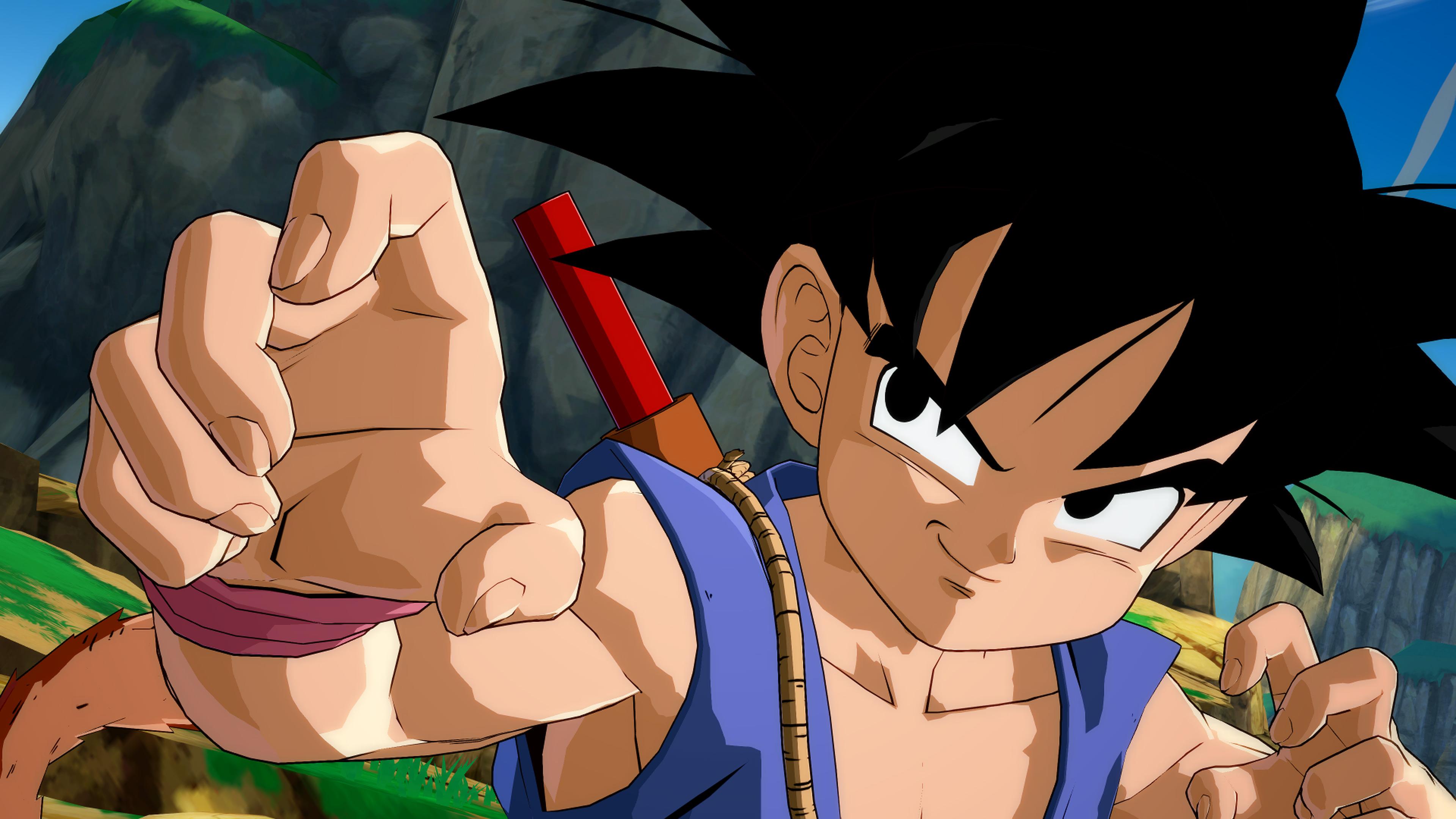 Goku (GT) chega em Dragon Ball FighterZ no próximo mês, personagem se transformará em Super Saiyajin 4
