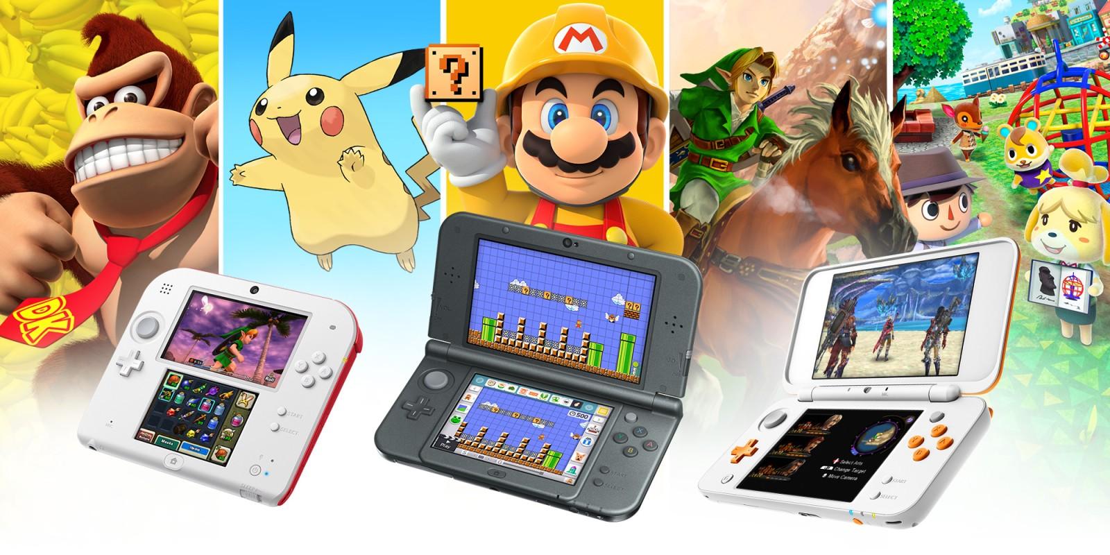 Nintendo diz que não há mais novos anúncios de títulos first-party para o Nintendo 3DS