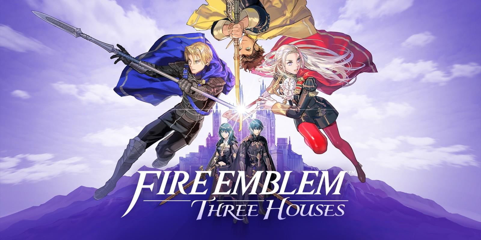 Fire Emblem: Three Houses – Detalhes dos personagens principais e jogabilidade