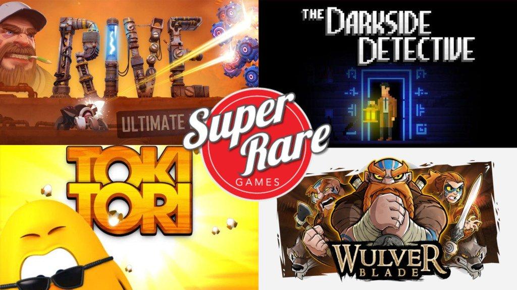 Super Rare Games anuncia versão física de Rive, Toki-Tori, The Darkside Detective, Earthlock e Wulverblalde para o Nintendo Switch