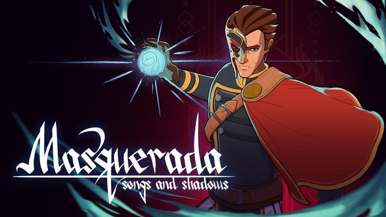 RPG tático Masquerada: Songs and Shadows chega ao Nintendo Switch no próximo mês