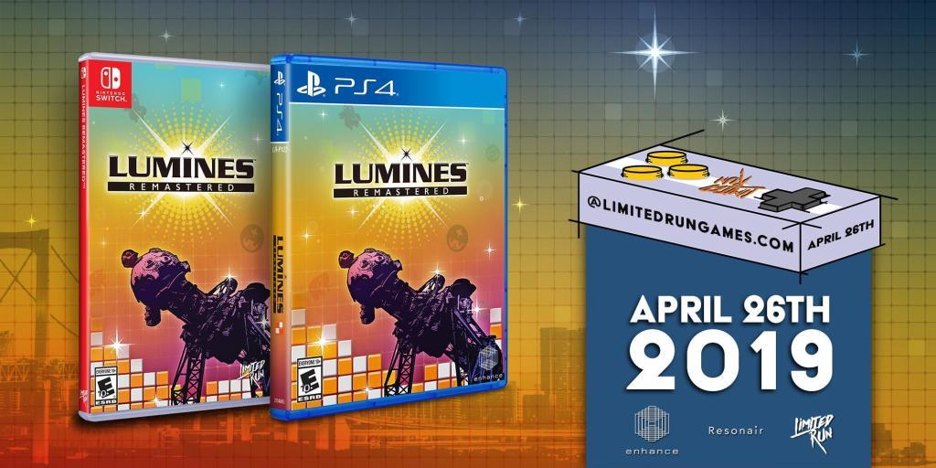 [Switch] Limited Run Games anuncia versão física de Lumines Remastered