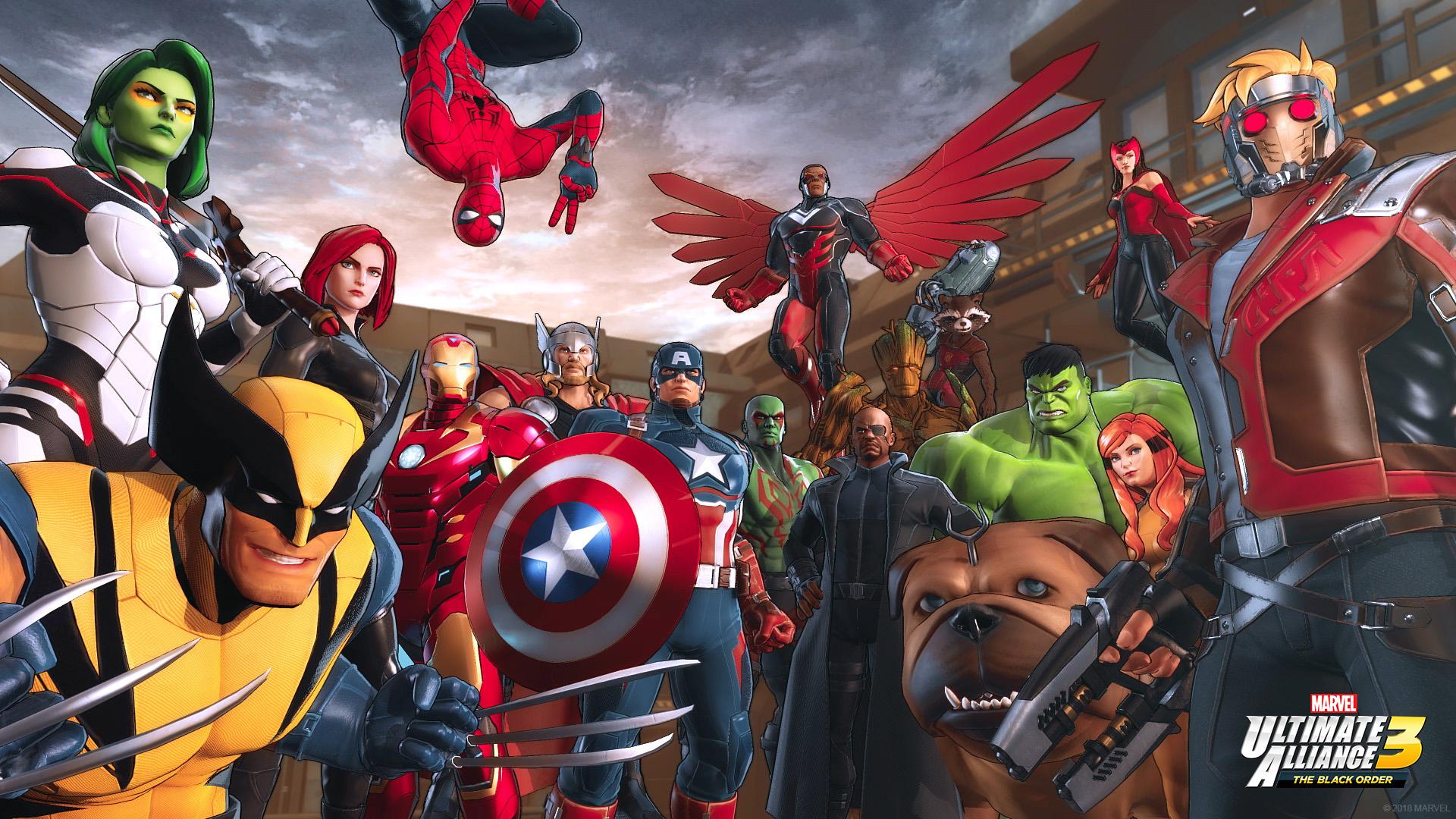 [Switch] Marvel Ultimate Alliance 3: The Black Order chega no mês de julho; Preço e arte de capa