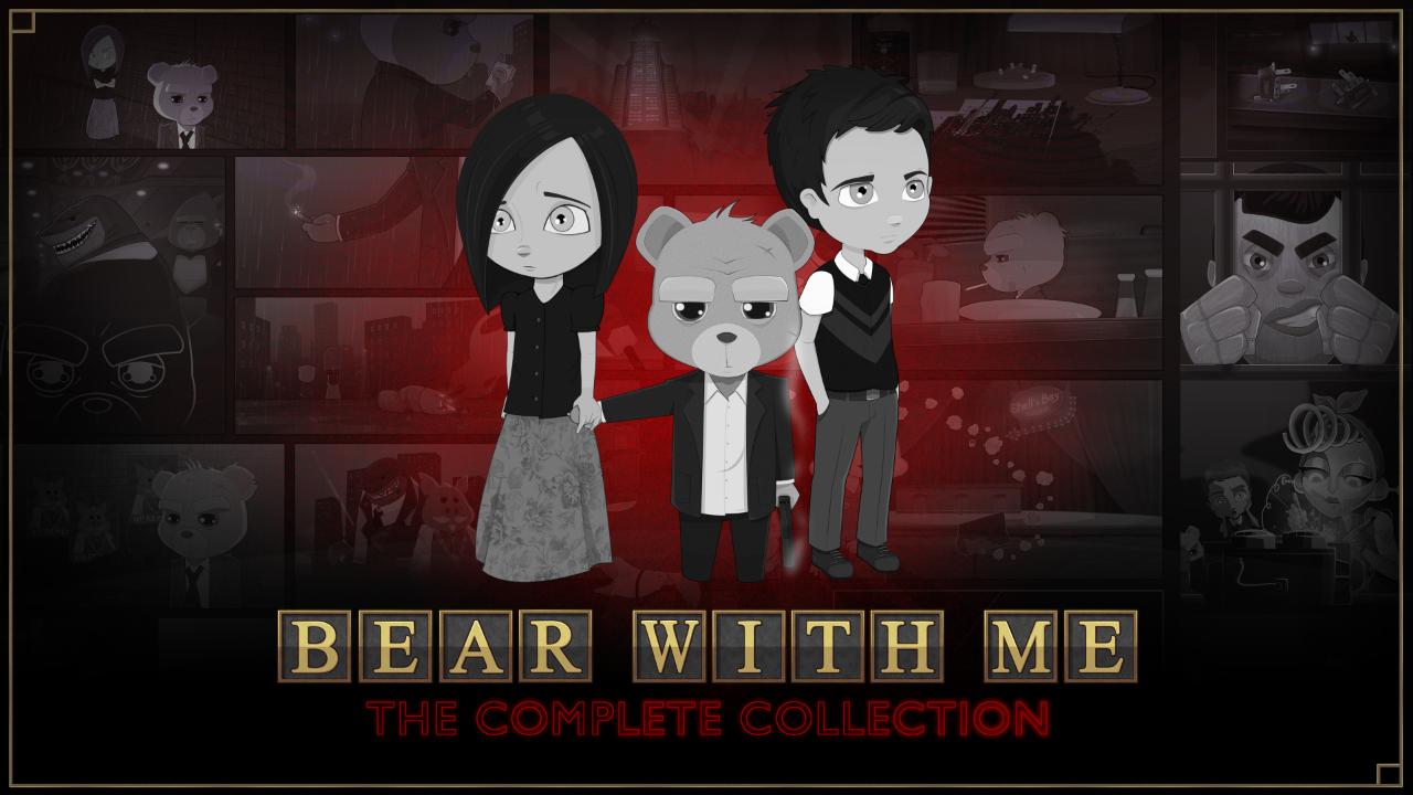 Bear With Me: The Complete Collection chega em julho no Nintendo Switch, novo trailer