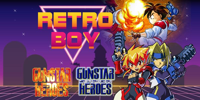 [RetroBoy] Gunstar Heroes & Gunstar Super Heroes