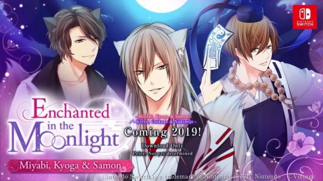 Voltage anuncia Enchanted in the Moonlight para o Nintendo Switch