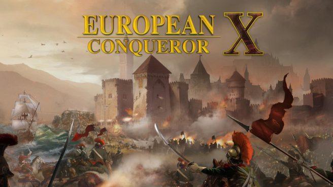 [Switch] European Conqueror X ganha data de lançamento
