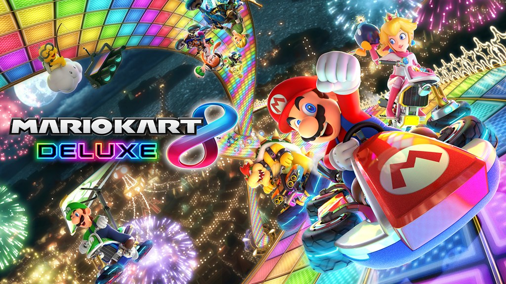 [Switch] Mario Kart 8 Deluxe já vendeu 16.69 milhões de cópias e se torna o terceiro jogo mais vendido da franquia