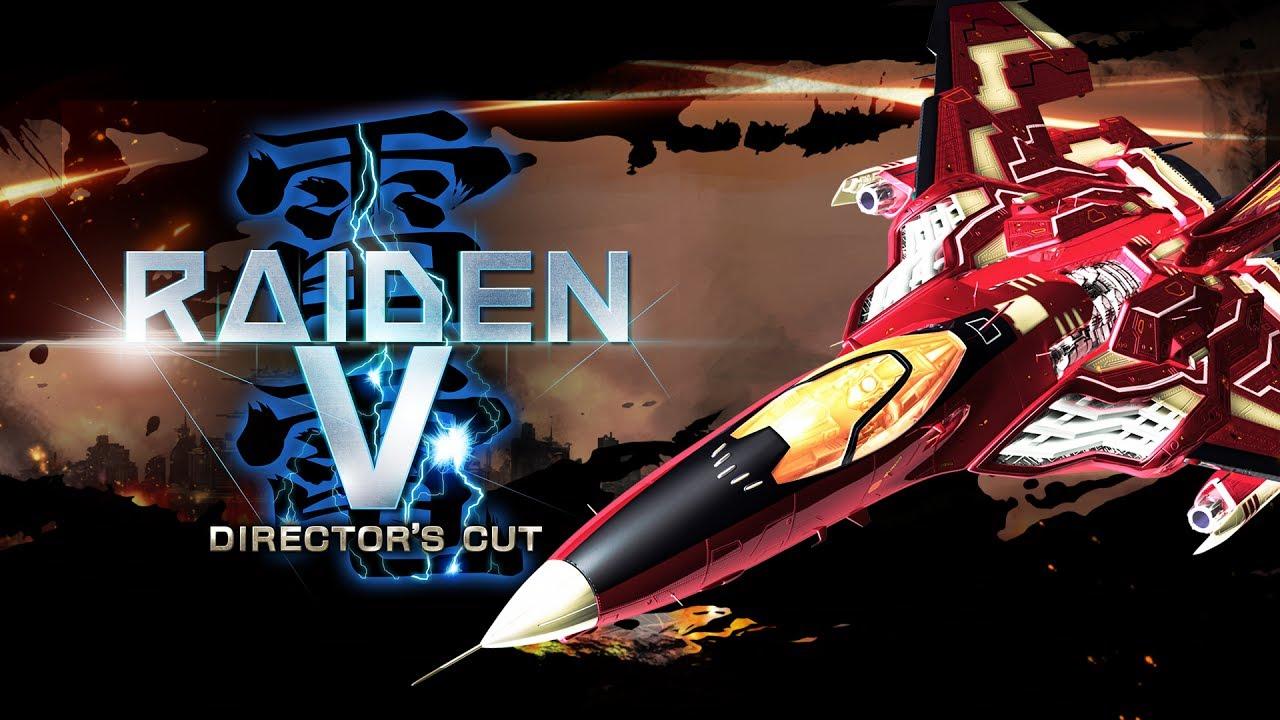 UFO anuncia oficialmente Raiden V: Director's Cut para o Nintendo Switch, jogo chega no mês de junho