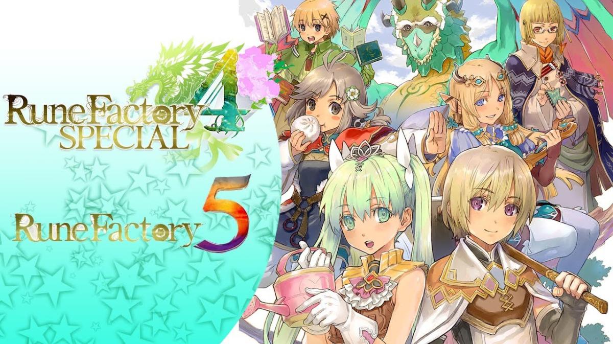 Rune Factory 4 Special chega em julho no Japão; Ganhe um bônus em Rune Factory 5 ao comprar Rune Factory 4 Special
