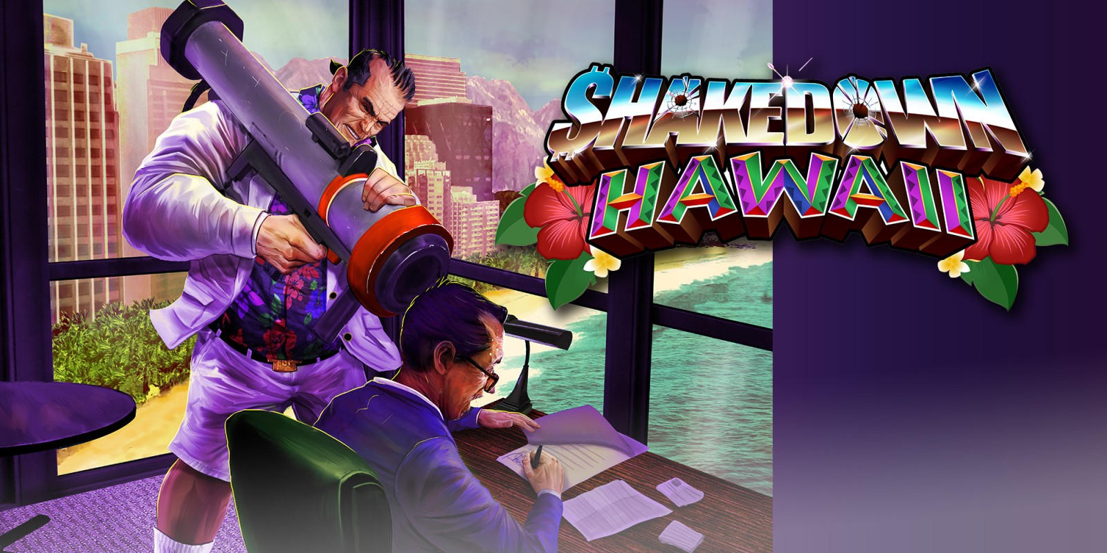Versão para Switch de Shakedown: Hawaii terá edição física após o lançamento digital