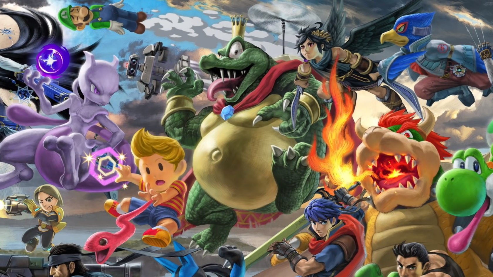 Super Smash Bros. Ultimate atinge a marca de 3 milhões de cópias físicas vendidas no Japão