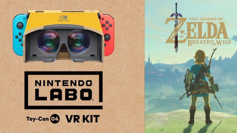 The Legend of Zelda: Breath of the Wild pode ser jogado todo em modo VR; Detalhes