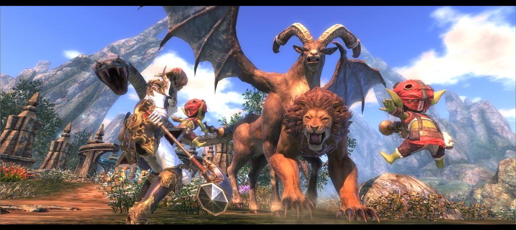 Asobimo anuncia o MMORPG Project Eternal para o Nintendo Switch