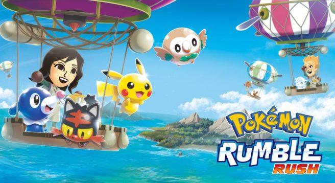 [Mobile] Pokémon Rumble Rush é lançado mundialmente nos dispositivos Android
