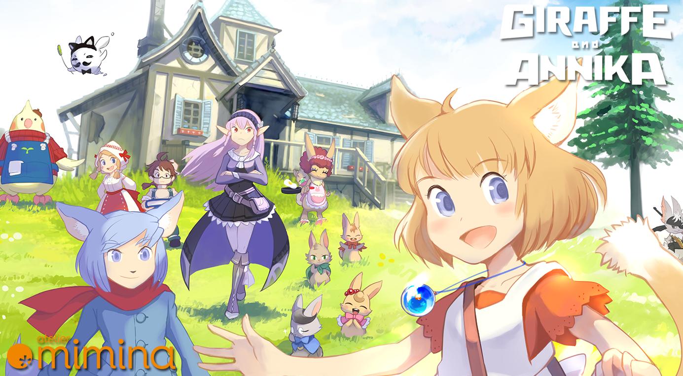 Giraffe & Annika já está disponível no PC; Versão para o Nintendo Switch chega ainda neste ano