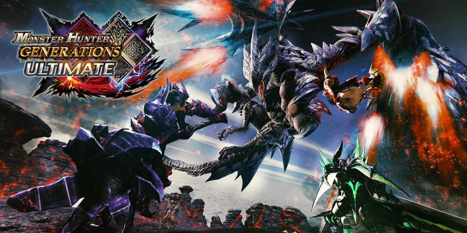 Monster Hunter Generations Ultimate já vendeu 3.1 milhões de unidades em todo o mundo