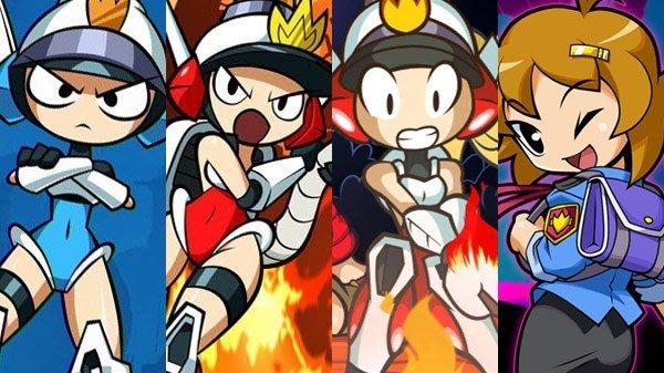 Mighty Switch Force! Collection é listado para o Nintendo Switch