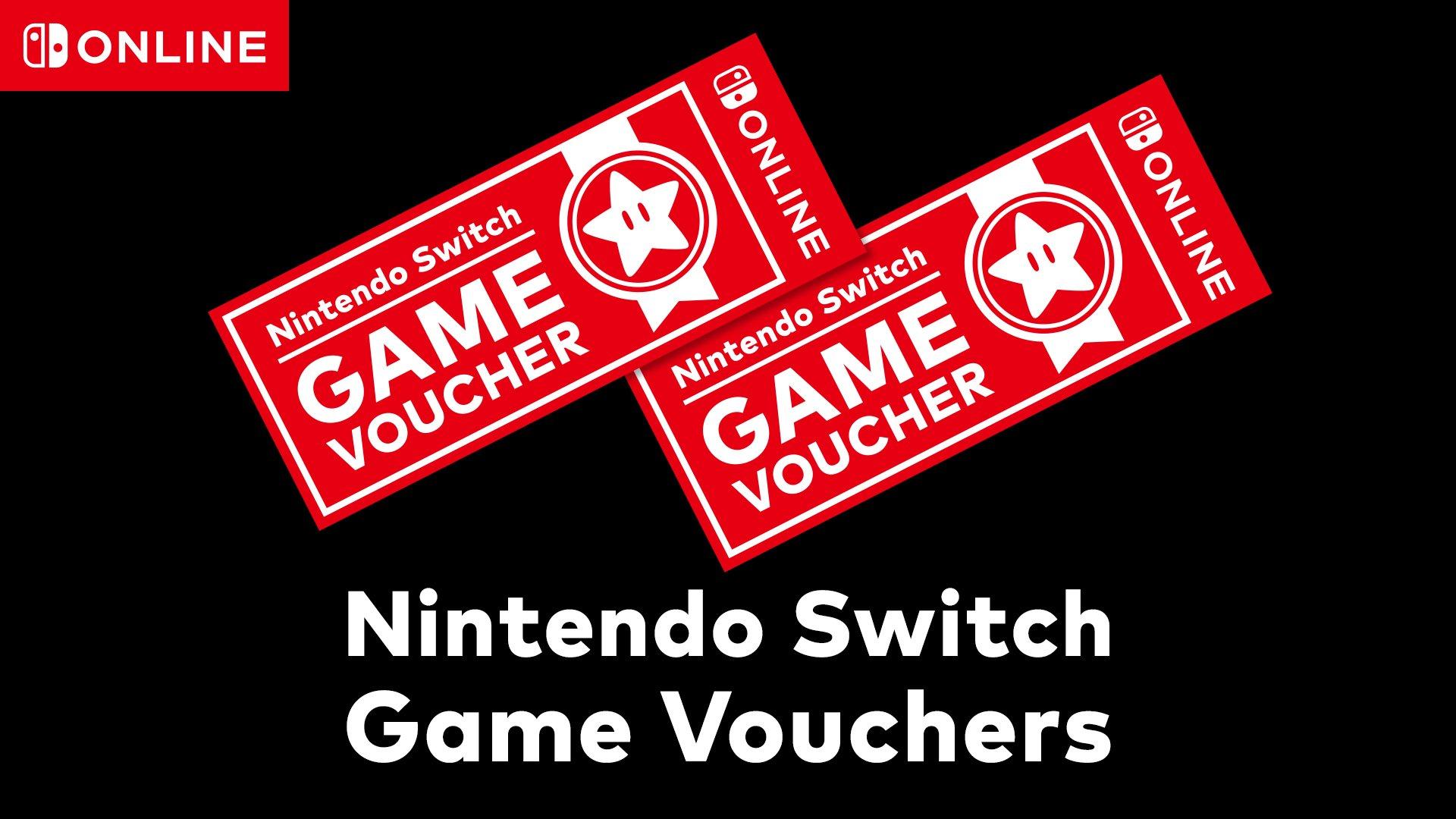 Nintendo anuncia o Nintendo Switch Game Vouchers: Compre dois jogos digitais full price e ganhe 20 dólares de desconto