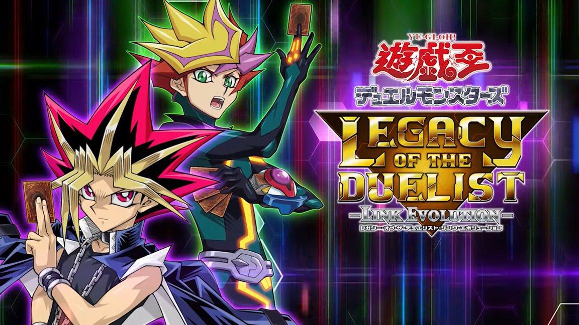 [Switch] Yu-Gi-Oh! Legacy of the Duelist – Link Evolution chega em agosto no ocidente; versão física virá com 3 cartas promocionais