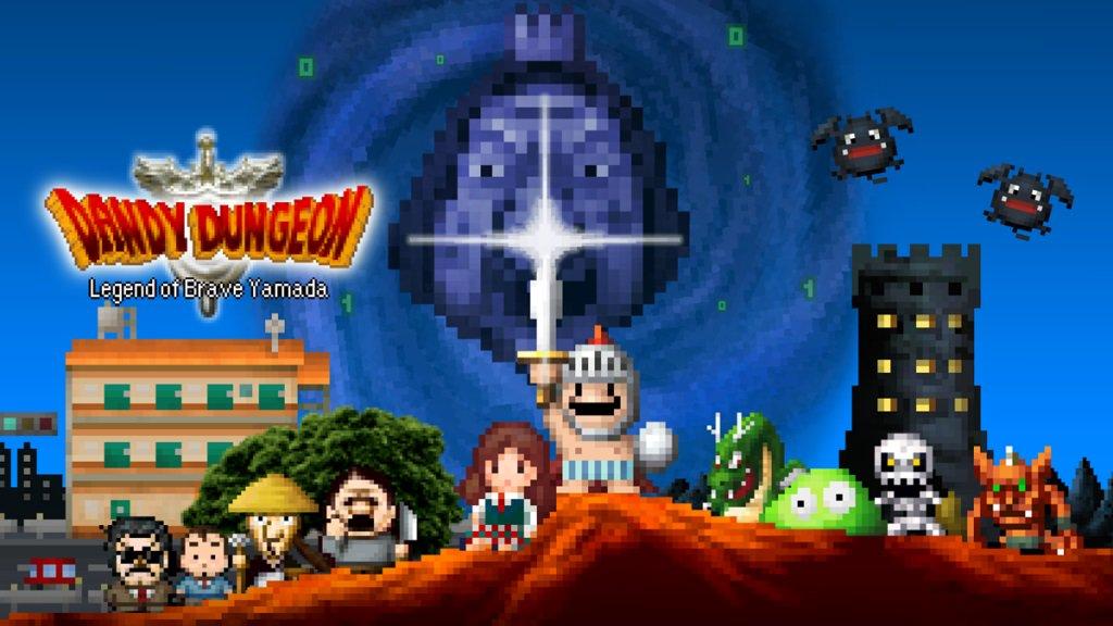 RPG rogue-lite Dandy Dungeon: Legend of Brave Yamada chega ao Nintendo Switch durante o verão americano