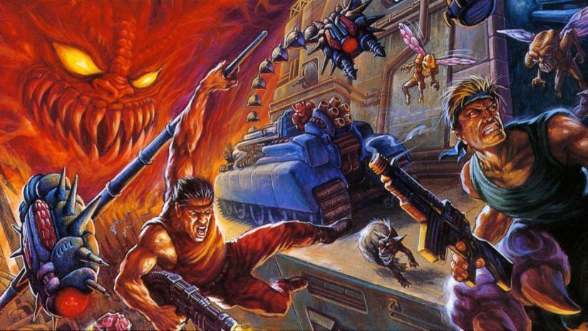 Varejista NetGames lista um novo jogo da série Contra para o Nintendo Switch