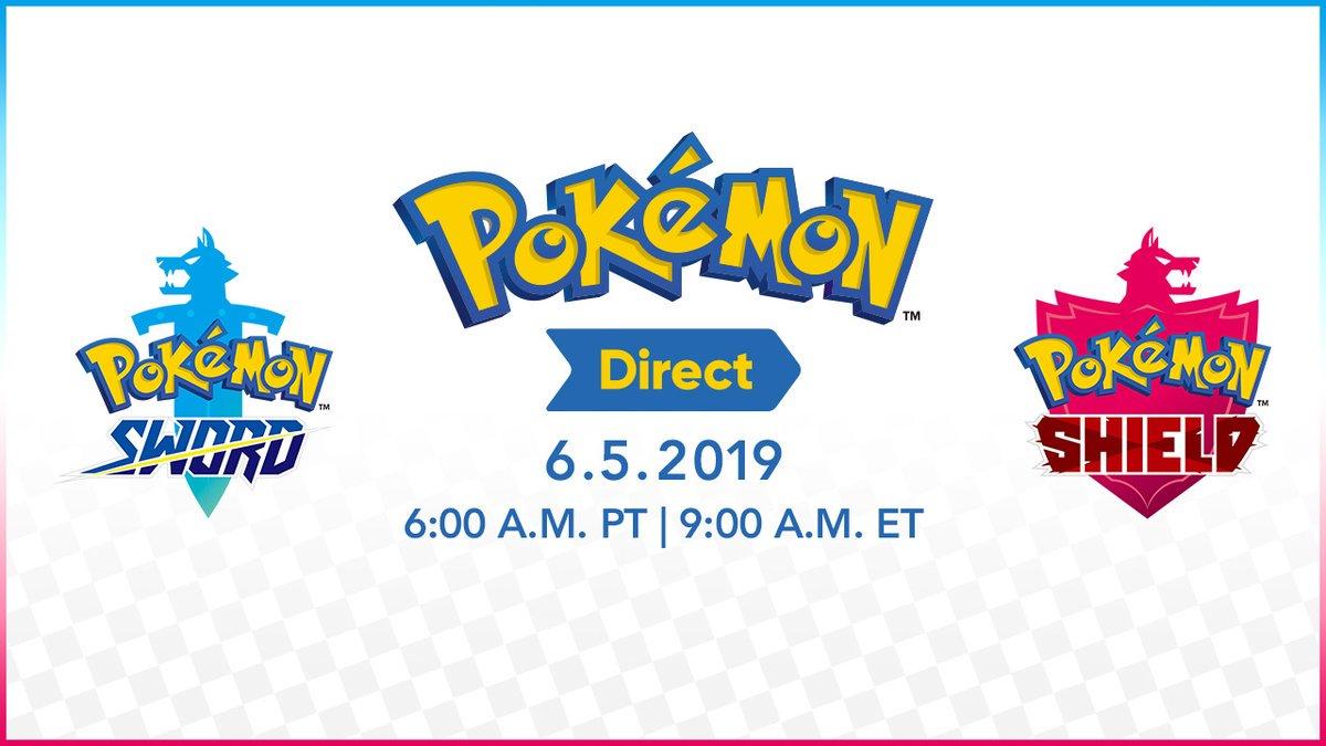 Nintendo anuncia Pokémon Direct para a próxima semana