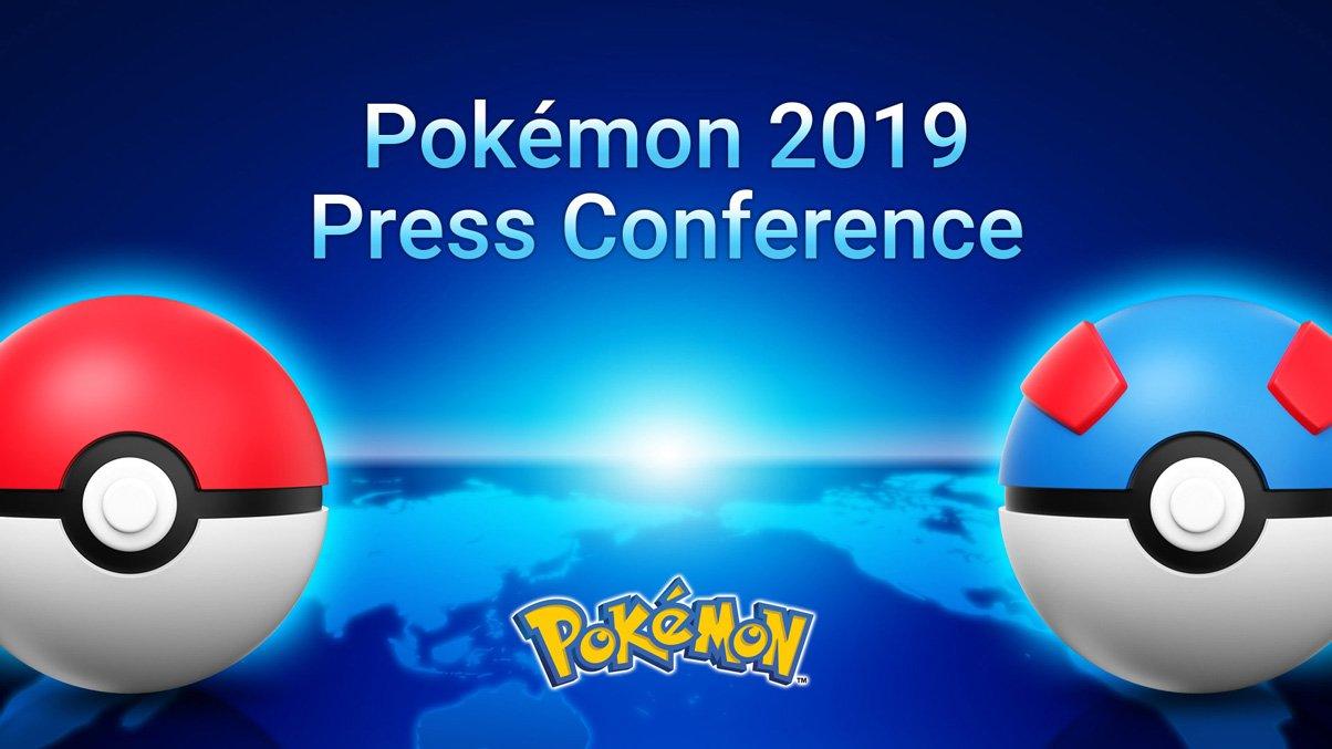 """Pokémon 2019 Press Conference onde """"cobrirá vários tópicos de interesse para os fãs de Pokémon"""" acontecerá nesta terça-feira"""