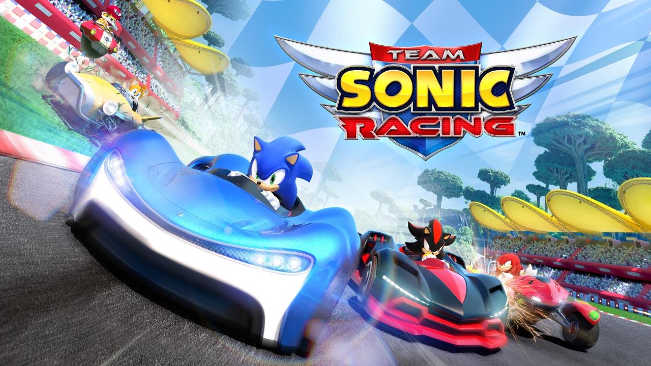 Opening movie de Team Sonic Racing foi cortada da versão de Switch por causa das restrições de tamanho do cartucho
