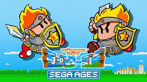 [Switch] SEGA Ages Wonder Boy in Monster Land chega está semana na eShop japonesa; screenshots