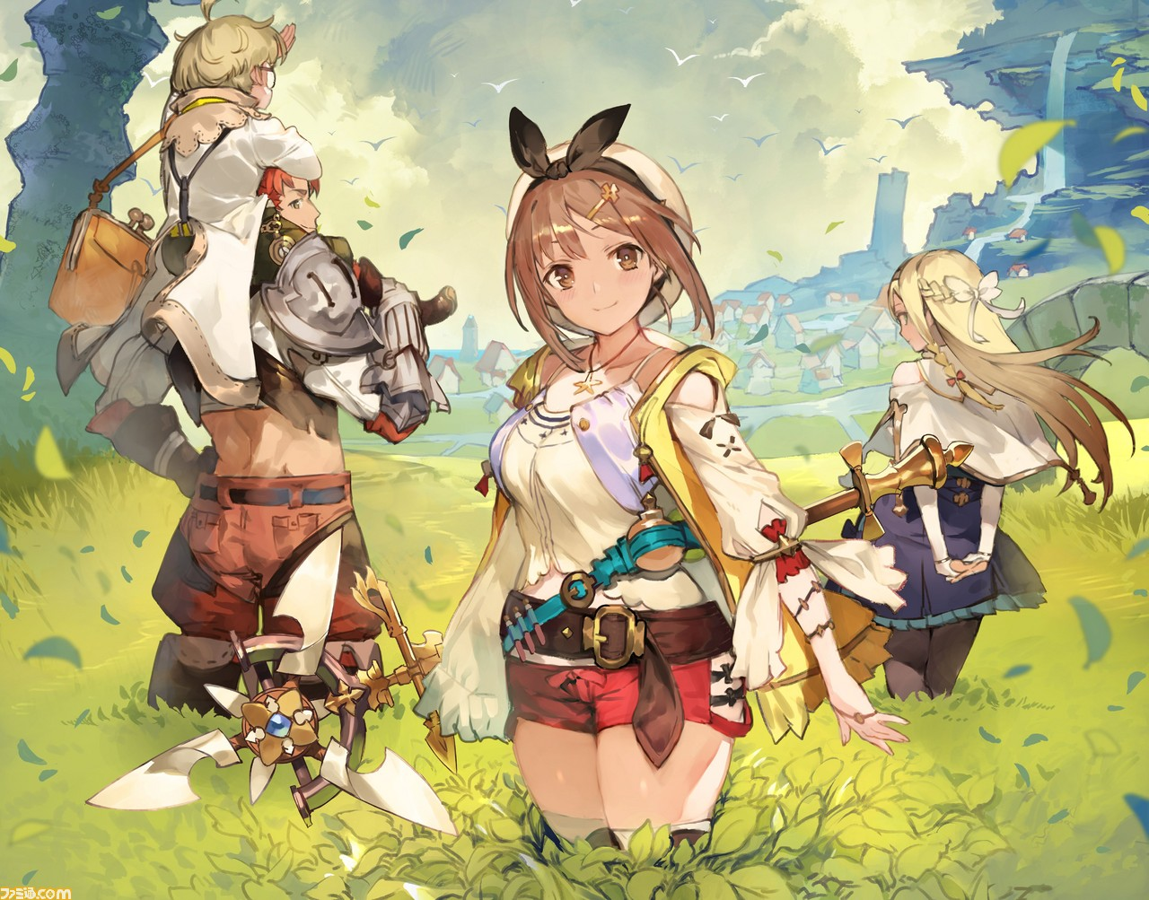 Koei Tecmo anuncia Atelier Ryza: The Queen of Eternal Darkness and the Secret Hideout para o Nintendo Switch