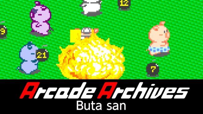 [Switch] Arcade Archives Butasan chega nesta semana; Trailer, Preço