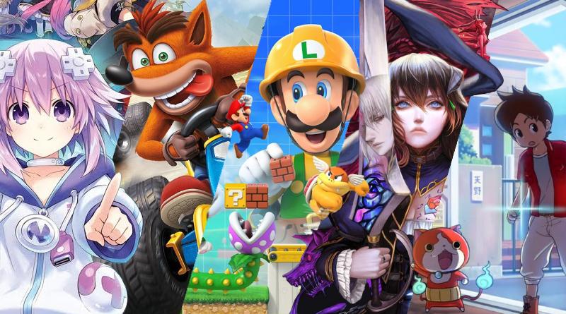 Lançamentos em mídia física para o Nintendo Switch no mês de Junho