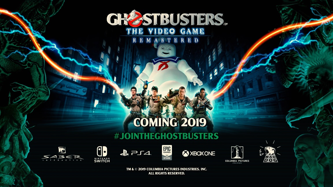 Saber Interactive anuncia Ghostbusters: The Video Game Remastered para o Nintendo Switch