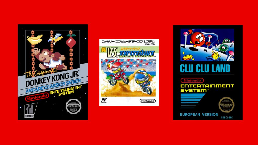 Donkey Kong Jr., VS. Excitebike e Clu Clu Land chegam na próxima semana para os assinantes do Nintendo Switch Online; Trailer