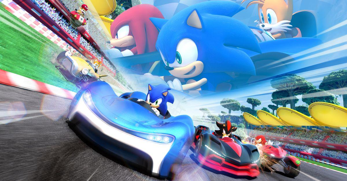 Reino Unido: Team Sonic Racing vendeu mais que o dobro de Sonic & All-Stars Racing Transformed em sua estreia