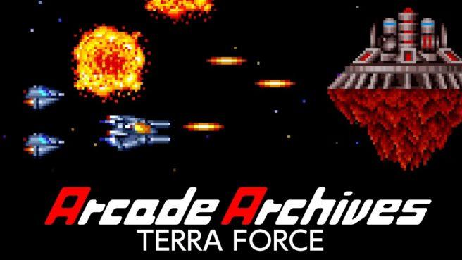 [Switch] Arcade Archives Terra Force chega nesta quinta-feira na eShop