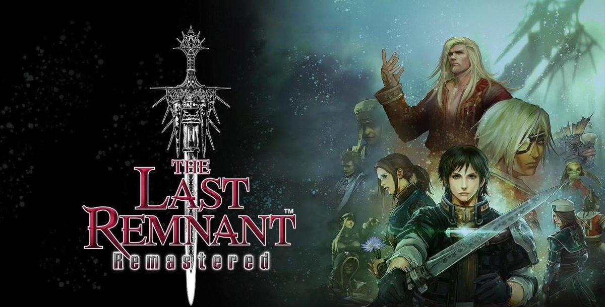 Square Enix anuncia o RPG The Last Remnant Remastered para o Nintendo Switch, disponível esta noite na eShop