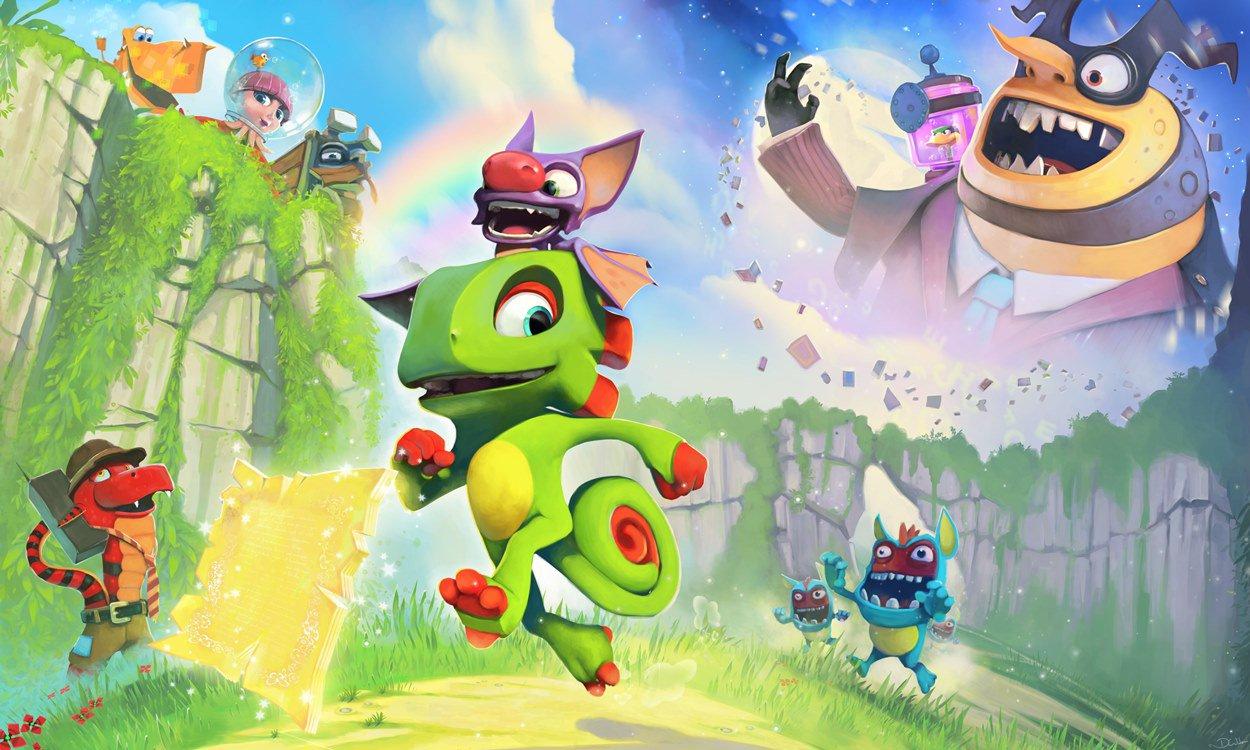 Playtonic Games está preparando um anúncio para o dia 7 de junho