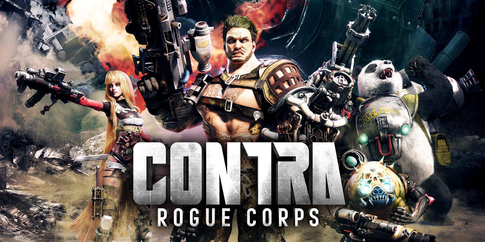 Konami anuncia Contra Rogue Corps para o Nintendo Switch