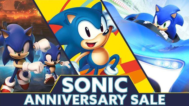 Sonic Anniversary Sale – Vários jogos do ouriço azul em promoção na eShop