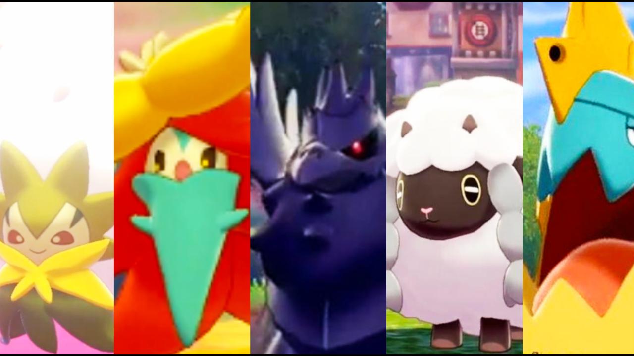 Pokémon Sword/Shield: Revelado os Pokémon Wooloo, Gossifleur, Drednaw, Corviknight, Eldegoss, e os lendários Zacian e Zamazenta