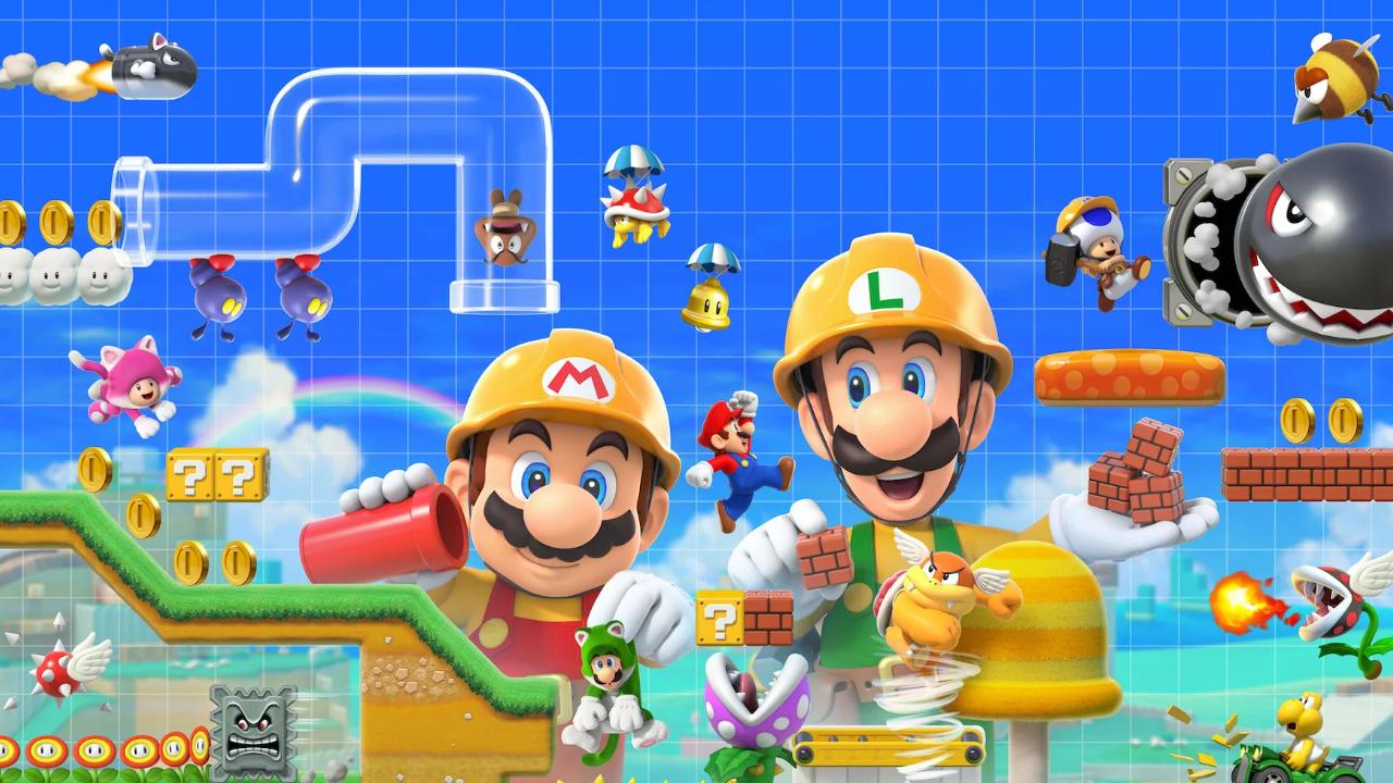 [Switch] Super Mario Maker 2 receberá atualização onde permitirá que os jogadores jogue com amigos online