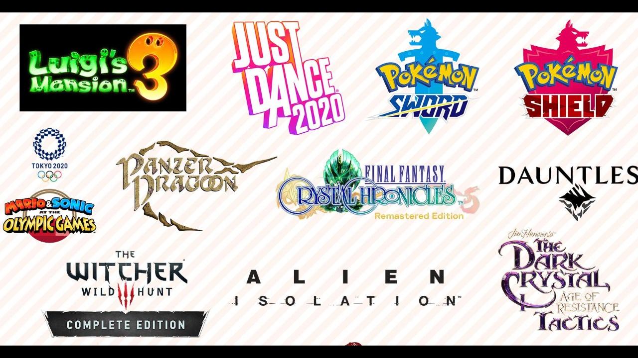 [Switch] Nintendo divulga infográfico com os principais lançamentos para 2019 e 2020