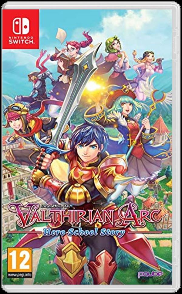 Valthirian Arc - Hero School Story
