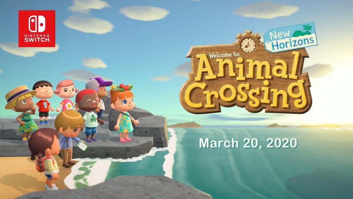 Animal Crossing: New Horizons chega em março de 2020 para o Nintendo Switch; Trailer com gameplay