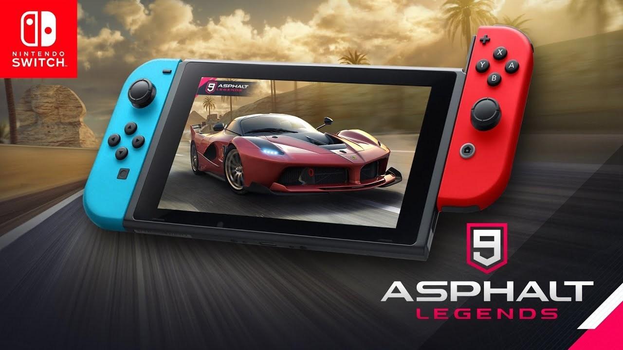 Gameloft anuncia o jogo Free-to-play Asphalt 9: Legends para o Nintendo Switch
