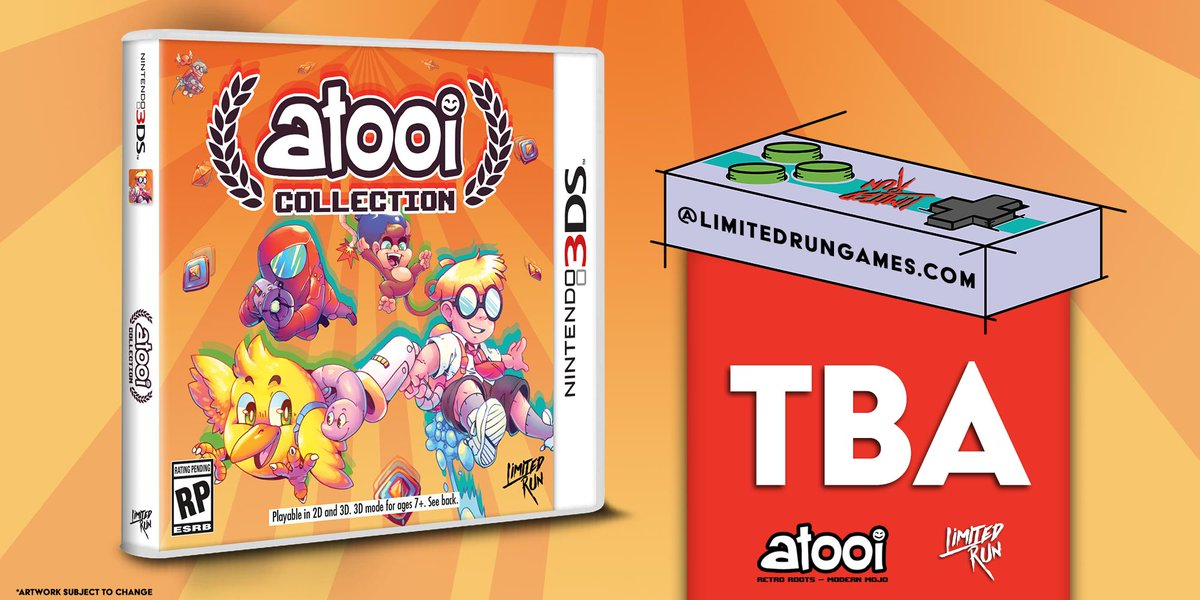 Limited Run Games passará a dar suporte ao Nintendo 3DS, começando por Atooi Collection